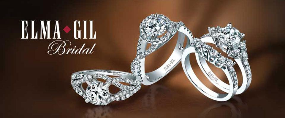 Elma-Gil Engagement Rings Available at Chandel Jewelers in New Jersey - Elma-Gil - Homepage Banner