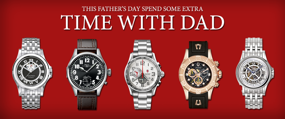 Father's Day - Homepage Banner - Father's Day - Watches