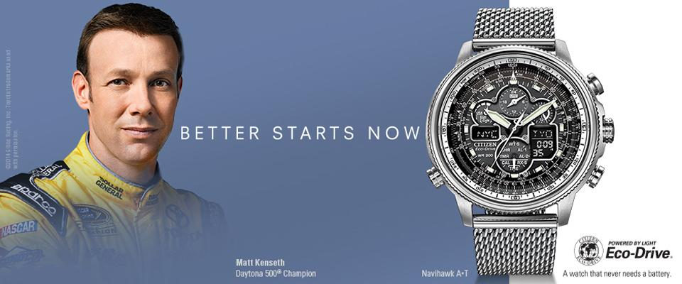 Citizen Eco Drive - Homepage Banner - Citizen Eco Drive - Homepage Banner
