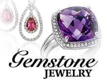 Shop gemstone jewelry at Helms Jewelry in Columbia, TN